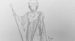 Yohiru en costume de sacre